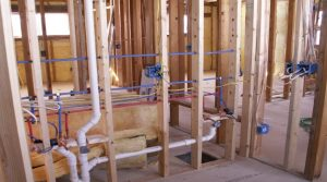 plumbing a new house